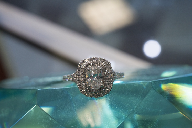 Custom Diamond Ring with Some Serious Bling