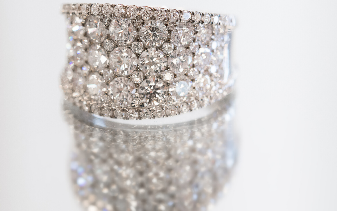 Beautiful diamond ring for Valentine's day in Dallas