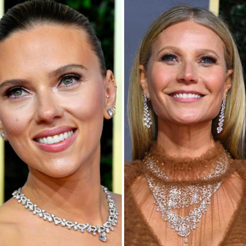 Celebrities with classic diamond jewelry