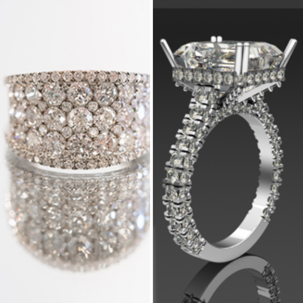 2 diamond rings from Jewelry from Top Jeweler in Dallas