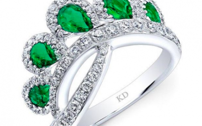 July is Green & Gold! Gemstone Trends in Fine Jewelry This Summer!