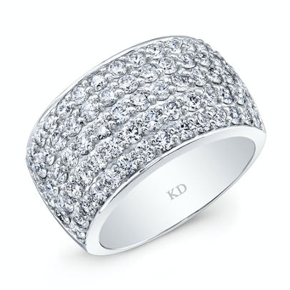 Lage Diamond and white gold ring in Frisco
