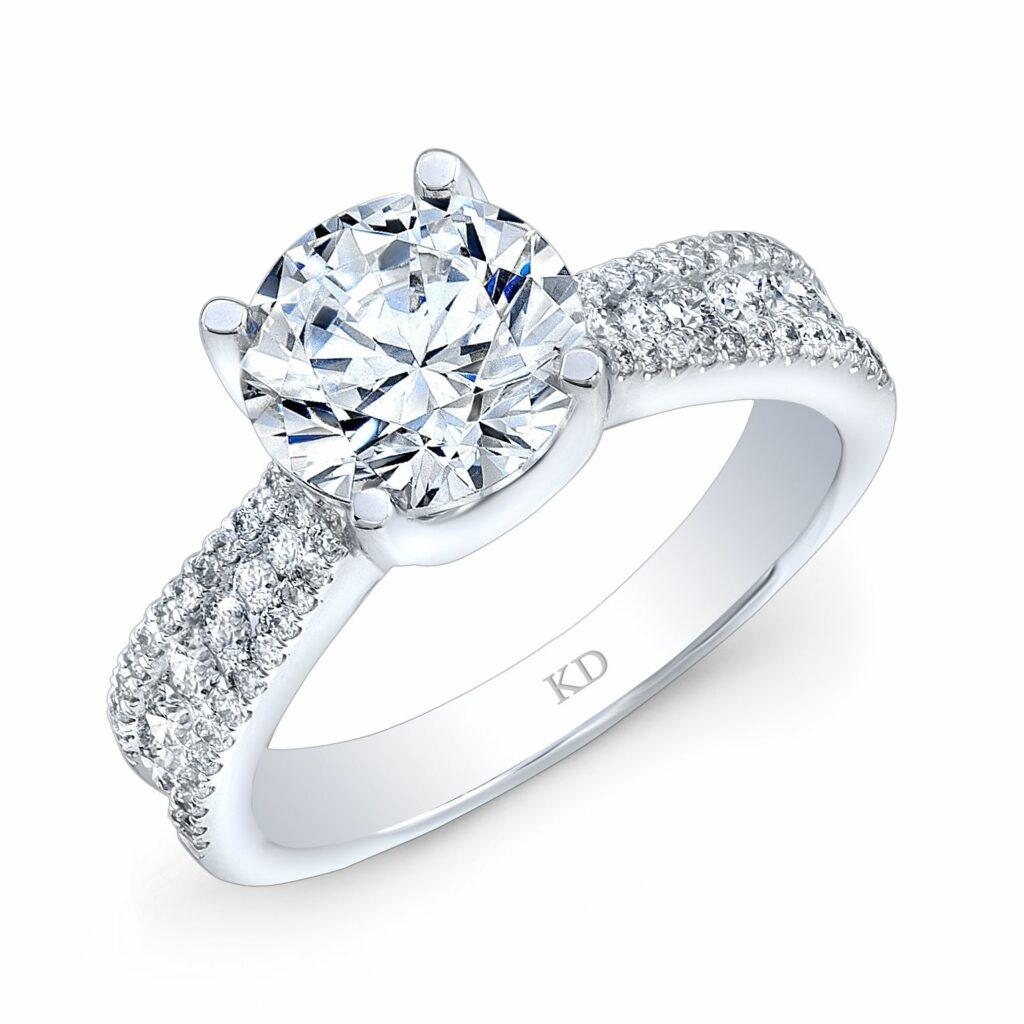 custom engagement rings in frisco